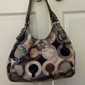 Coach hobo style purse
